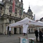 unser Stand am Grazer Hauptplatz